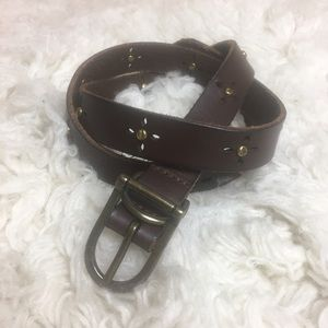 GAP casual leather belt